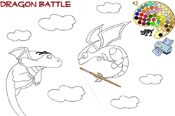 Dragon Battle Online Szinezok
